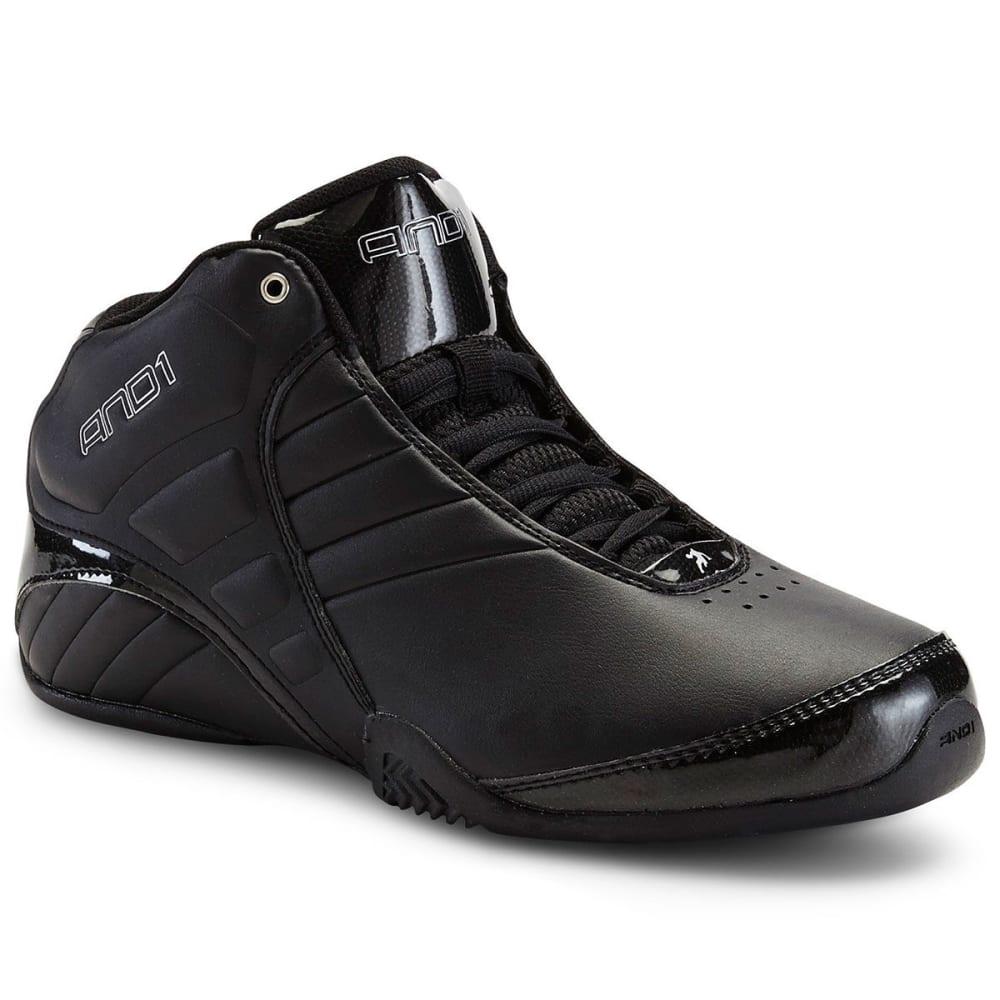 AND1 Men's Rocket 3.0 Shoes - BLACK-BBS