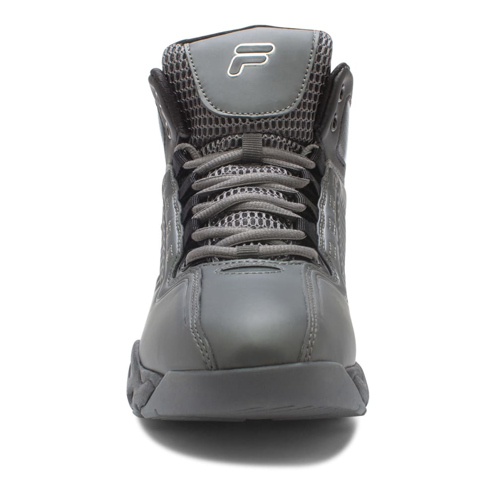 FILA Men's Big Bang Basketball Shoes - BLACK/CHINCHILLA