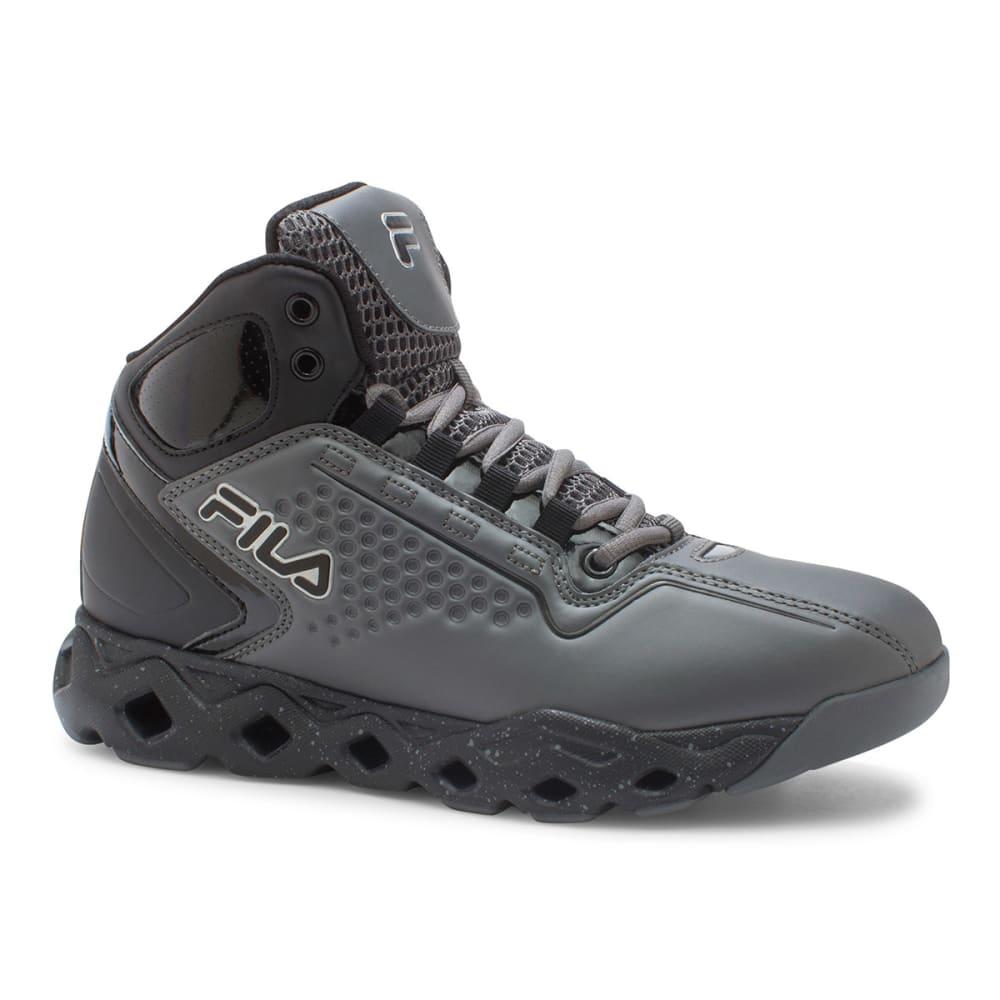 FILA Men's Big Bang Basketball Shoes - BLACK/CHINCHILLA