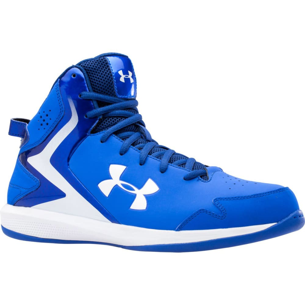 UNDER ARMOUR Men's Lockdown Basketball Shoes - TEAM ROYAL