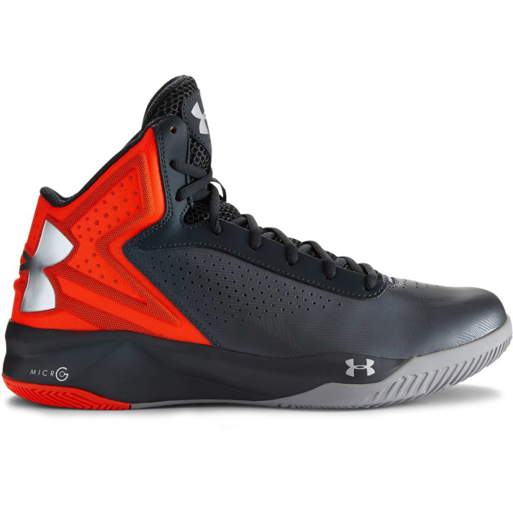 UNDER ARMOUR Men's UA Micro G® Torch Basketball Shoes - GRAPHITE