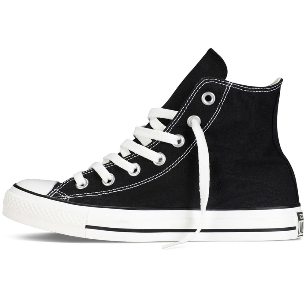 CONVERSE Unisex Chuck Taylor All Star Hi Top Shoes, Sizes 6.5-13 - PREMIER - BLACK