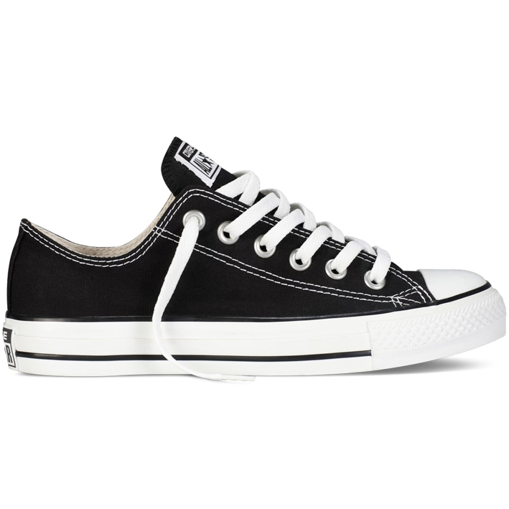 Converse Unisex Chuck Taylor All Star Lo Shoes - Black, 14