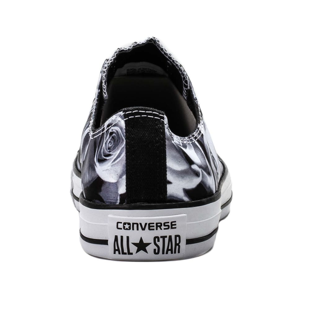 CONVERSE Unisex Chuck Taylor All Star Lo Sneakers - BLACK/WHITE
