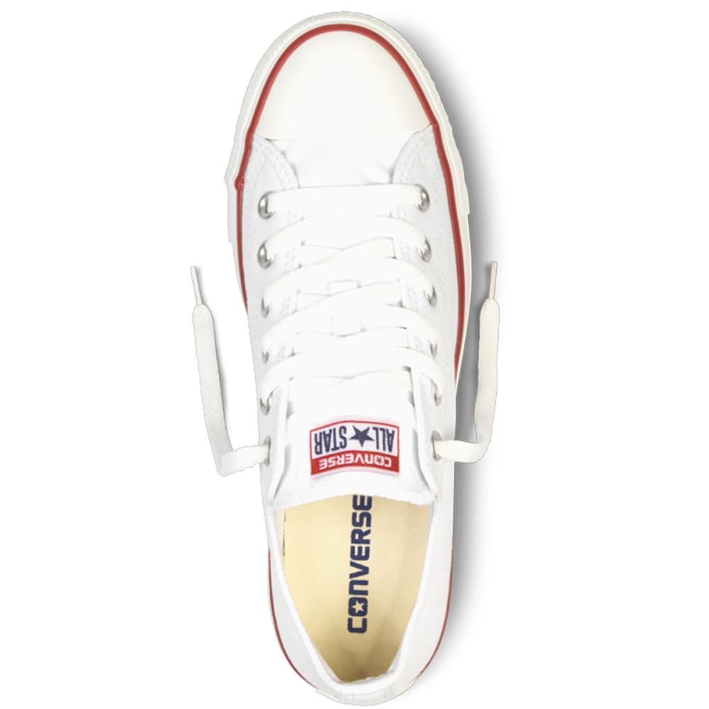 CONVERSE Unisex Chuck Taylor All Star Lo Shoes - OPTICAL WHT M7652