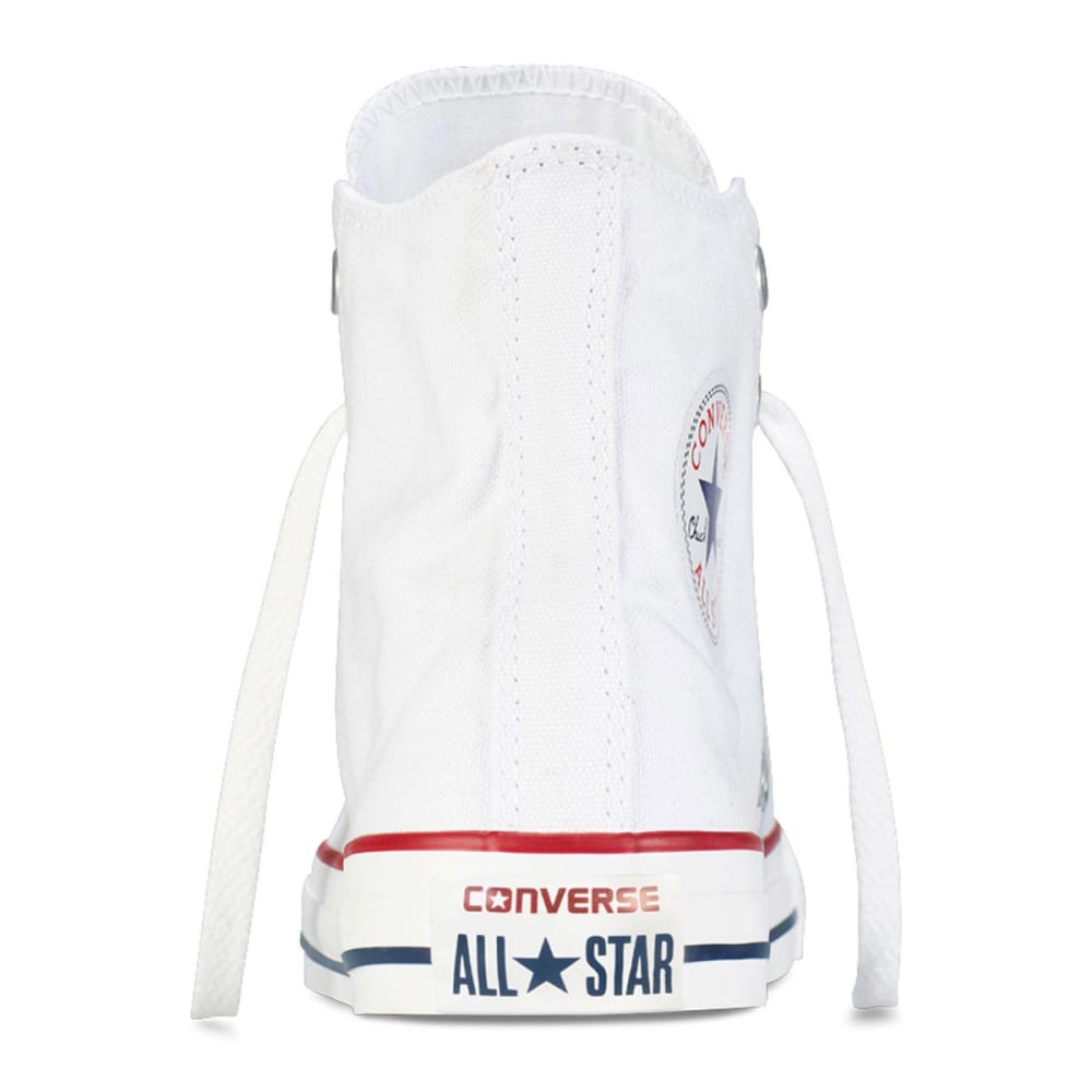 CONVERSE Unisex Chuck Taylor All Star Hi Shoes - OPTICAL WHITE - 6.5-
