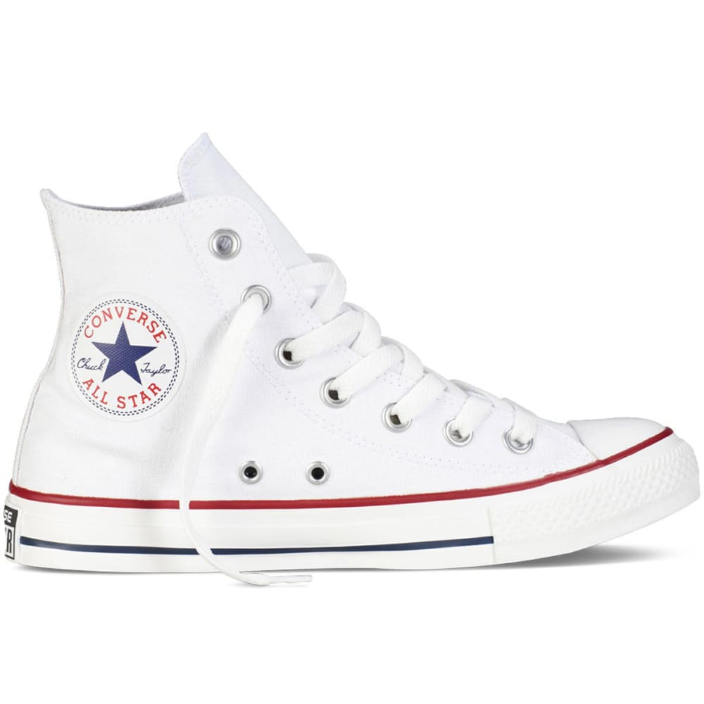 Converse Unisex Chuck Taylor All Star Hi Shoes - White, 11
