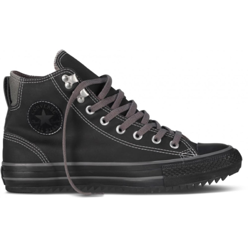 CONVERSE Men's Chuck Taylor All Star City Hiker Sneakers - BLACK/CHINCHILLA