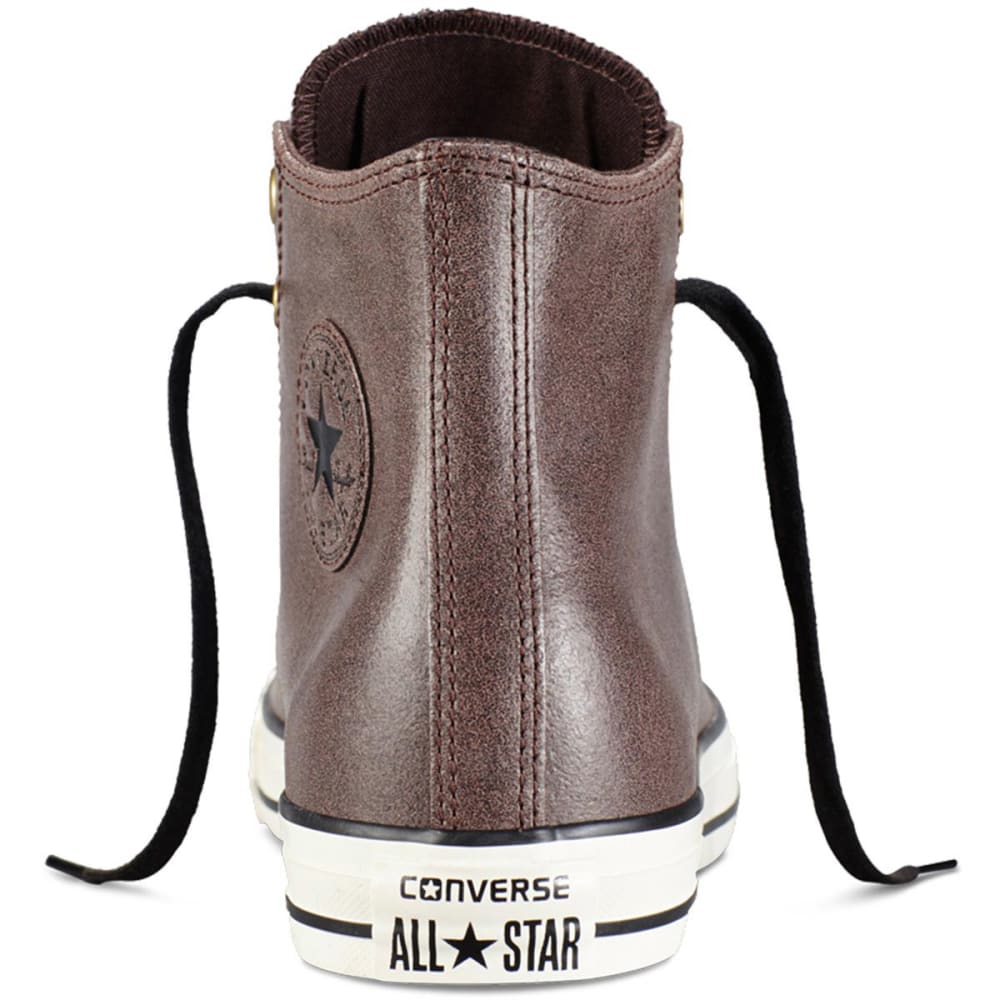 CONVERSE Men's Chuck Taylor All Star Vintage Leather Shoes - CABIN BROWN