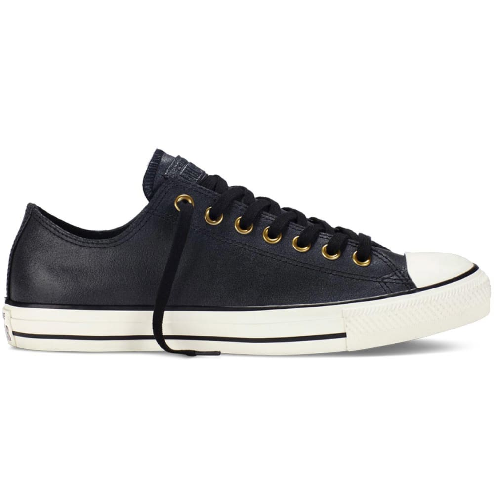 743adc2218f5 CONVERSE Men  39 s Chuck Taylor All Star Ox Vintage Leather Sneakers - BLACK