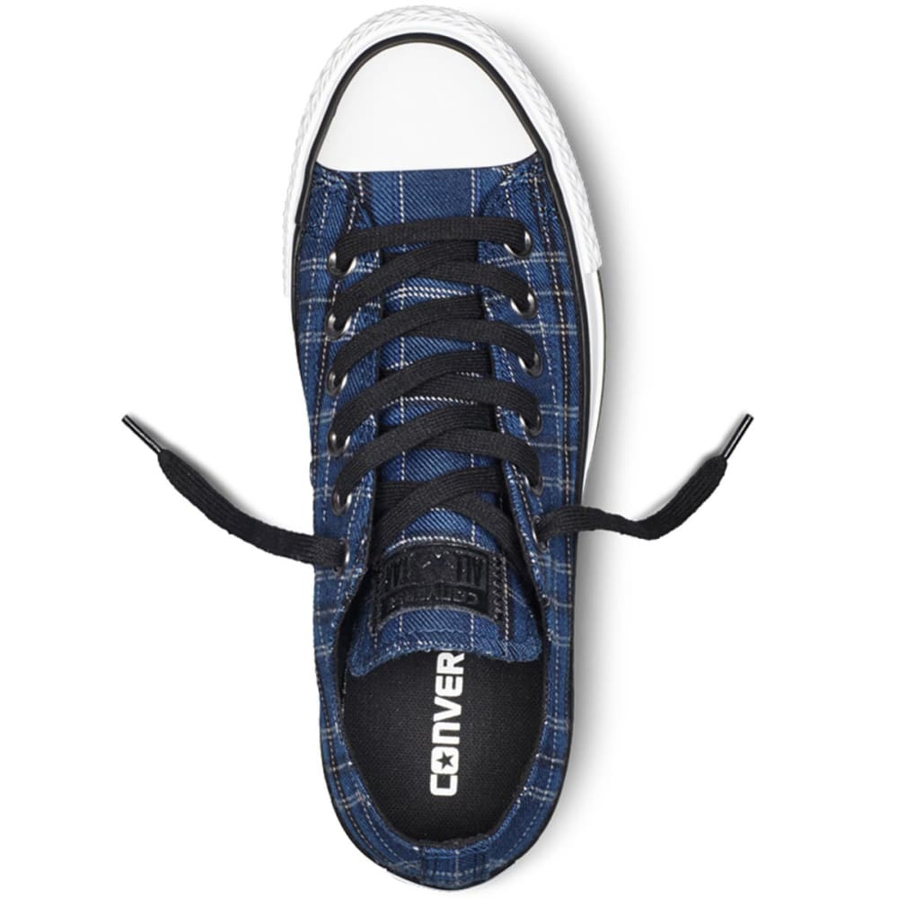 CONVERSE Women's All Star® Ox Plaid Sneakers - NAVY