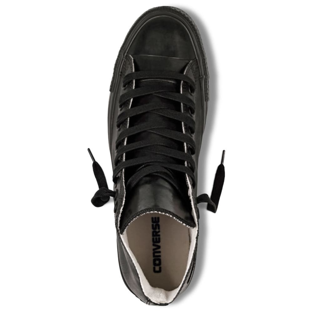 CONVERSE Men's Chuck Taylor All Star Rubber Shoes - BLACK