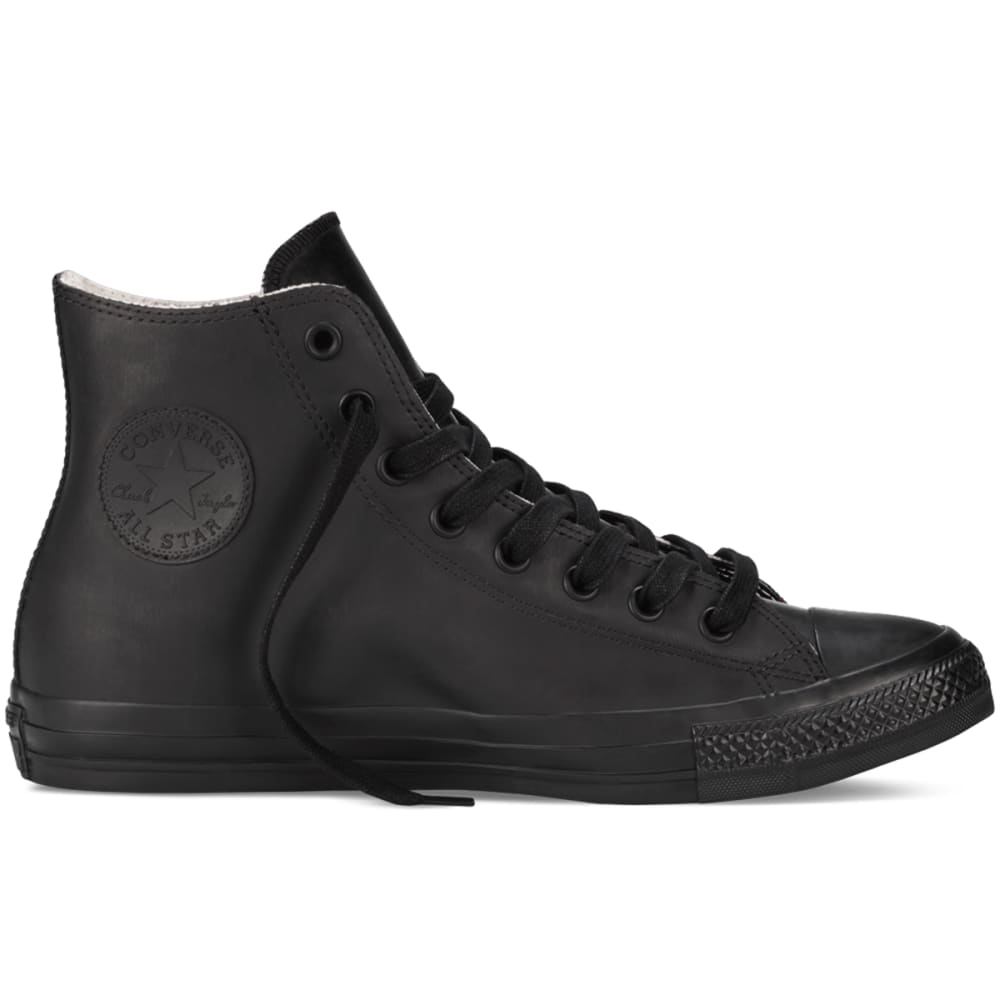 Converse Men's Chuck Taylor All Star Rubber Shoes - Black, 4