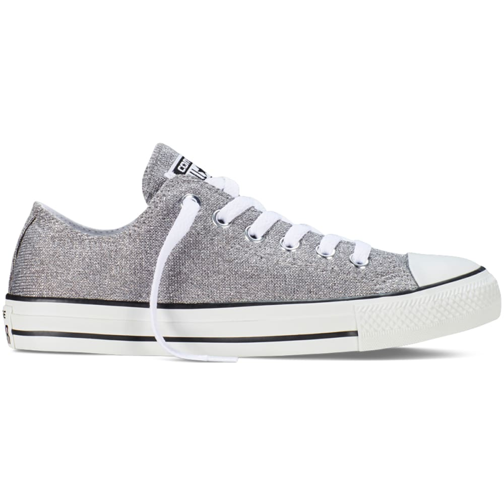 CONVERSE Women's All Star Sparkle Knit - SILVER