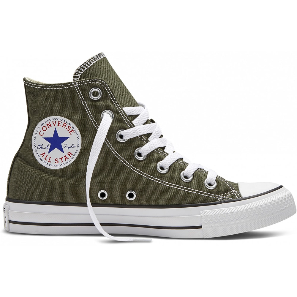 CONVERSE Unisex Chuck Taylor All-Star Hi Top Shoes - GREEN