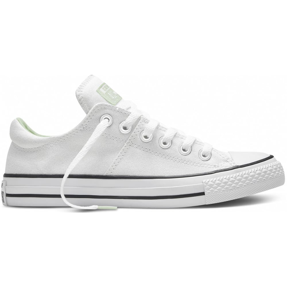 CONVERSE Women's Chuck Taylor All Star Shoes, Madison - WHITE
