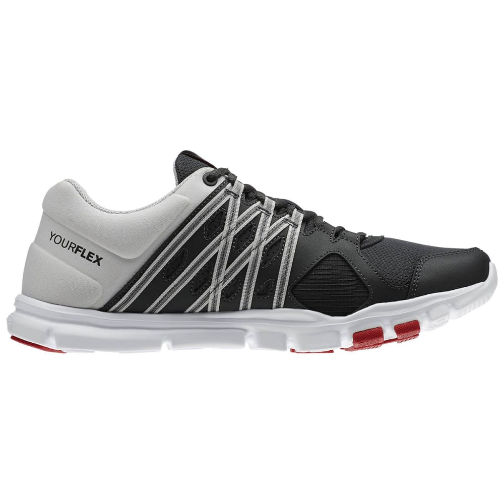 REEBOK Men's YourFlex 8.0 Training Shoes - GRAVEL