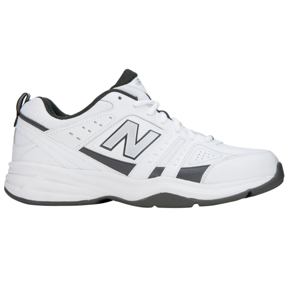 NEW BALANCE Men's MX409WG2 Sneakers, Wide Width 4E - WHITE/GREY