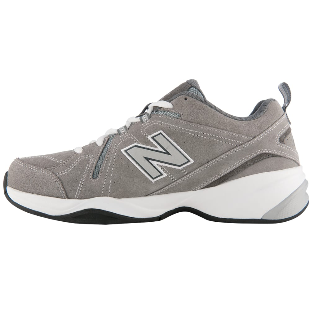 NEW BALANCE Men's 608v4 Sneakers, 4E Width - GREY