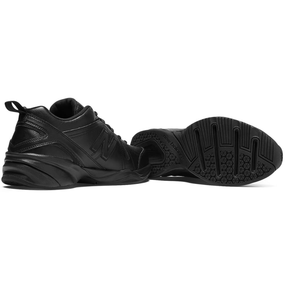 NEW BALANCE Men's 608v4 Sneakers, 4E Width - BLACK