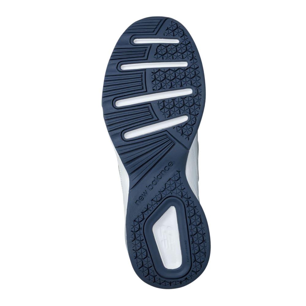 NEW BALANCE Men's 608v4 Sneakers, Medium Width - WHITE/NAVY