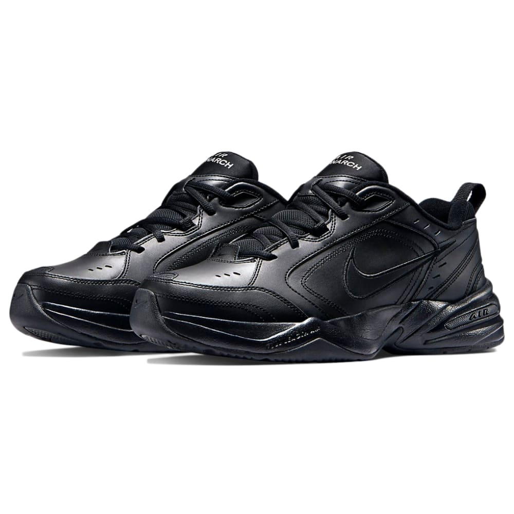 NIKE Men's Air Monarch IV Training Shoes - BLACK-001