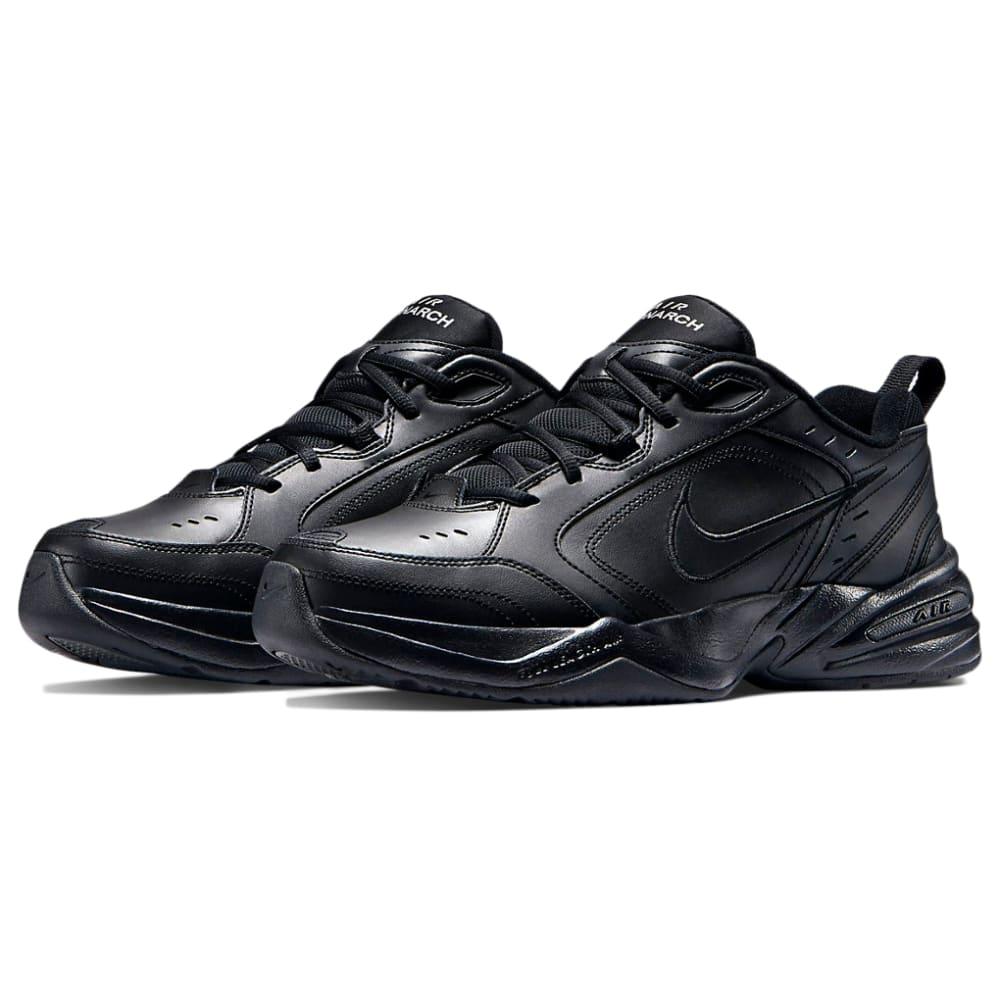 NIKE Men's Air Monarch IV Training Shoes - BLACK-001