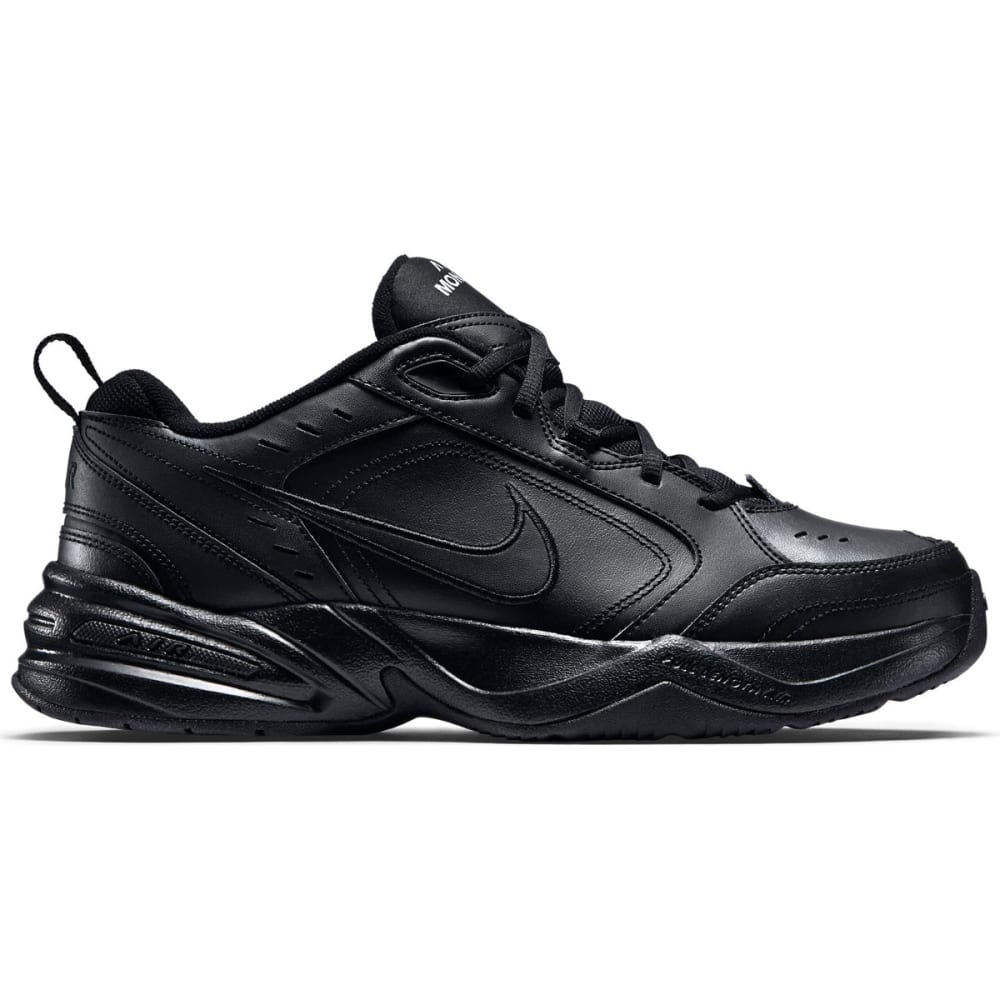 NIKE Men's Air Monarch IV Training Shoes, Extra Wide - BLACK