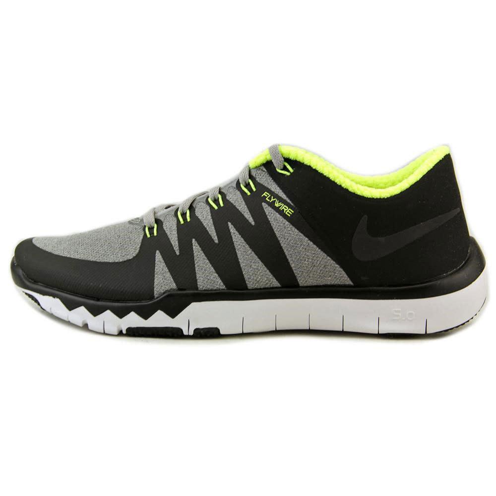 NIKE Men's Free Trainer 5.0 V6 Training Shoes - EBONY/FUSHIA