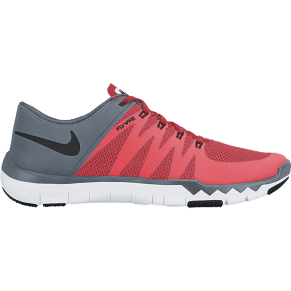 NIKE Men's Free Trainer 5.0 V6 Training Shoes - BRIGHT CRIMSON