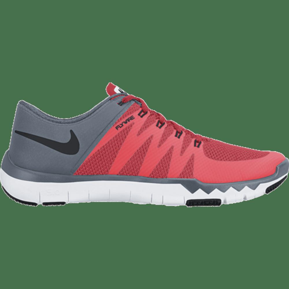 NIKE Men's Free Trainer 5.0 V6 Training Shoes - BRIGHT CRIMSON