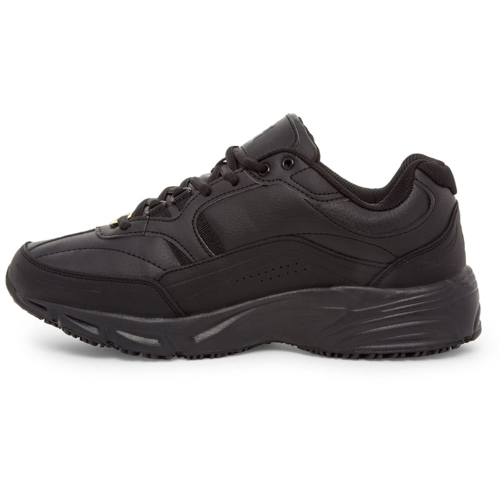 FILA Men's Memory Training Shoes, Wide Width - BLACK