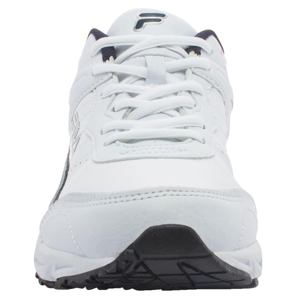 FILA Men's Memory Sportland Running Shoe - WHT/BLU 1SRW0831 WID