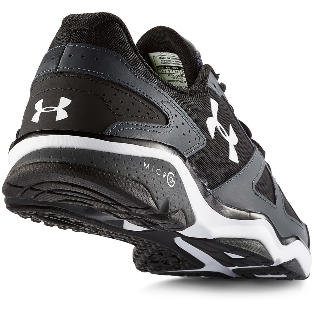 UNDER ARMOUR Men's Micro G® Strive V Training Shoes - LEAD