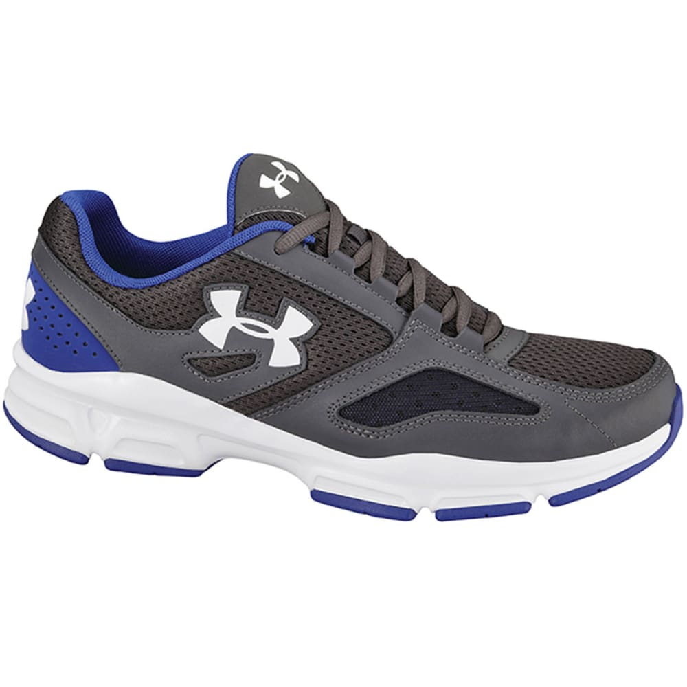 UNDER ARMOUR Men's Zone Sneakers - CHARCOAL/ROYAL