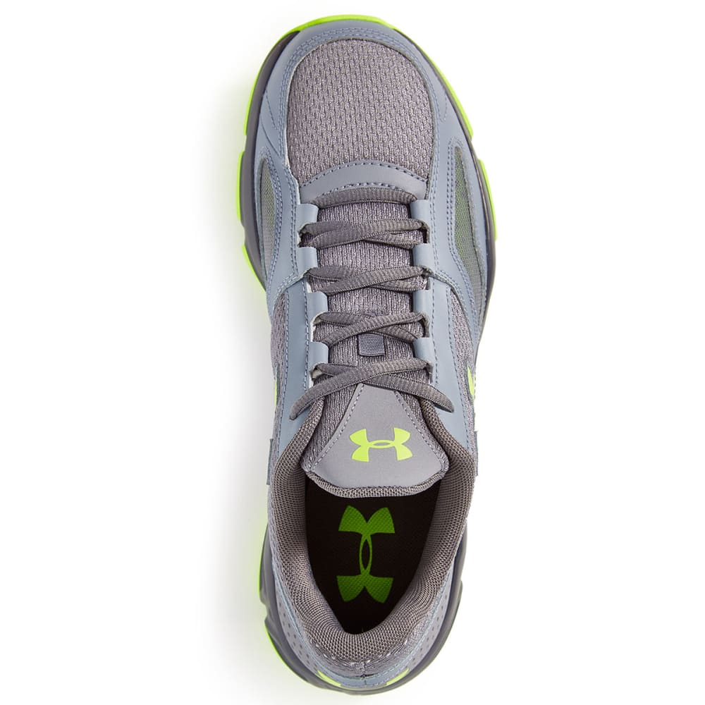 UNDER ARMOUR Men's Zone Sneakers - STEEL