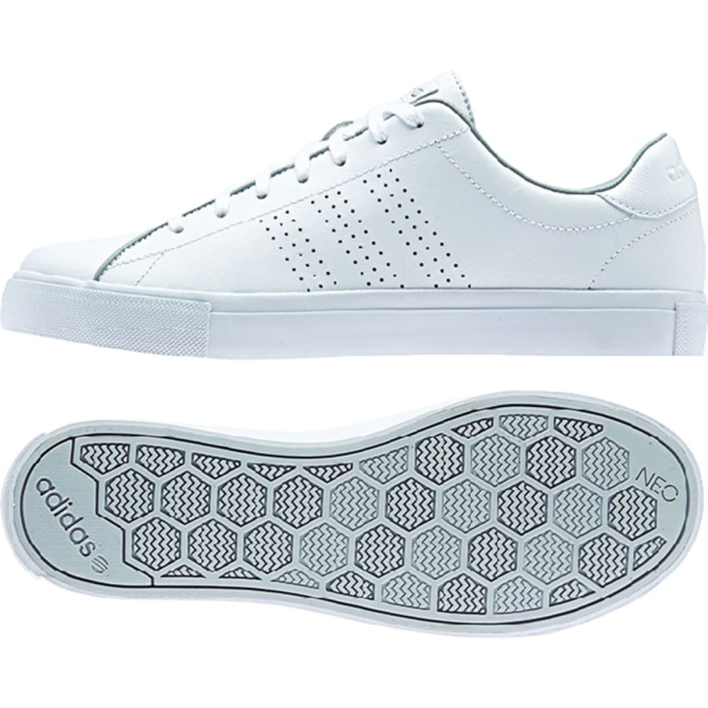 ADIDAS Men's Neo Daily Line Shoes - WHITE