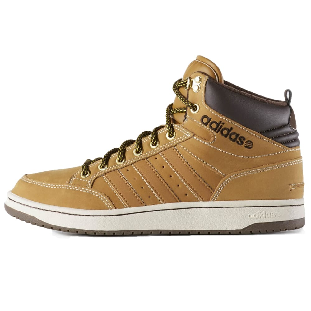 ADIDAS Men's BBneo Hoops Mid Athletic Shoes - BIRCH