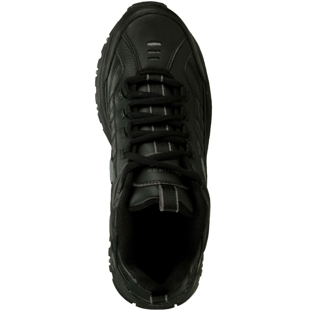 SKECHERS Men's Energy Afterburn Shoes, Medium Width -  VALUE DEAL - BLACK