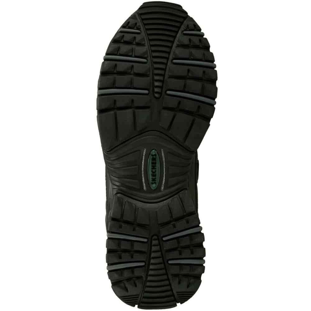 SKECHERS Men's Energy Afterburn Shoes, Medium Width - BLACK