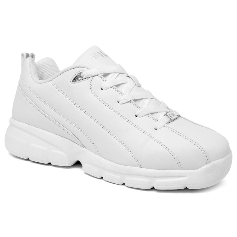 FILA Men's Leverage Shoes - WHITE