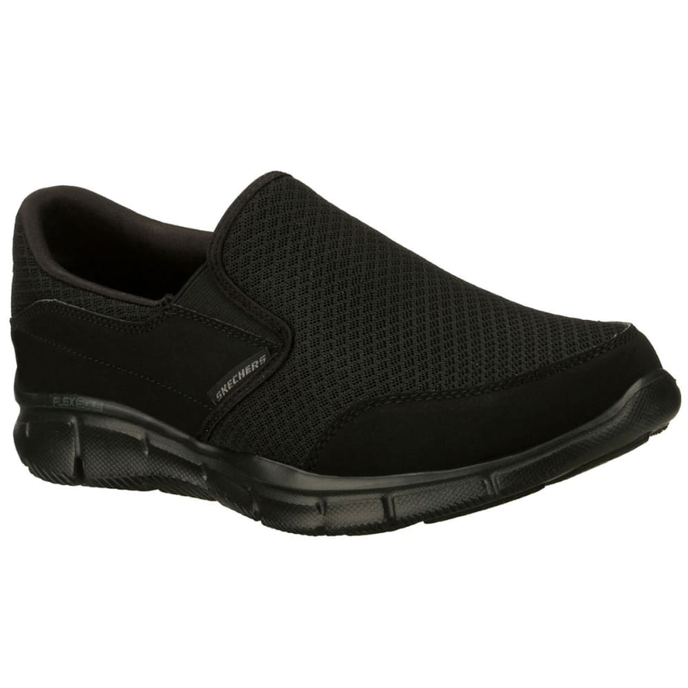 SKECHERS Men's Equalizer- Persistent Sneakers - BLACK-BBK