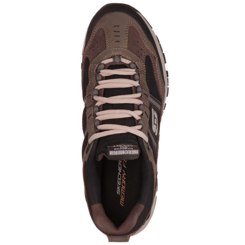 SKECHERS Men's Vigor 2.0 Trait Shoes - BROWN