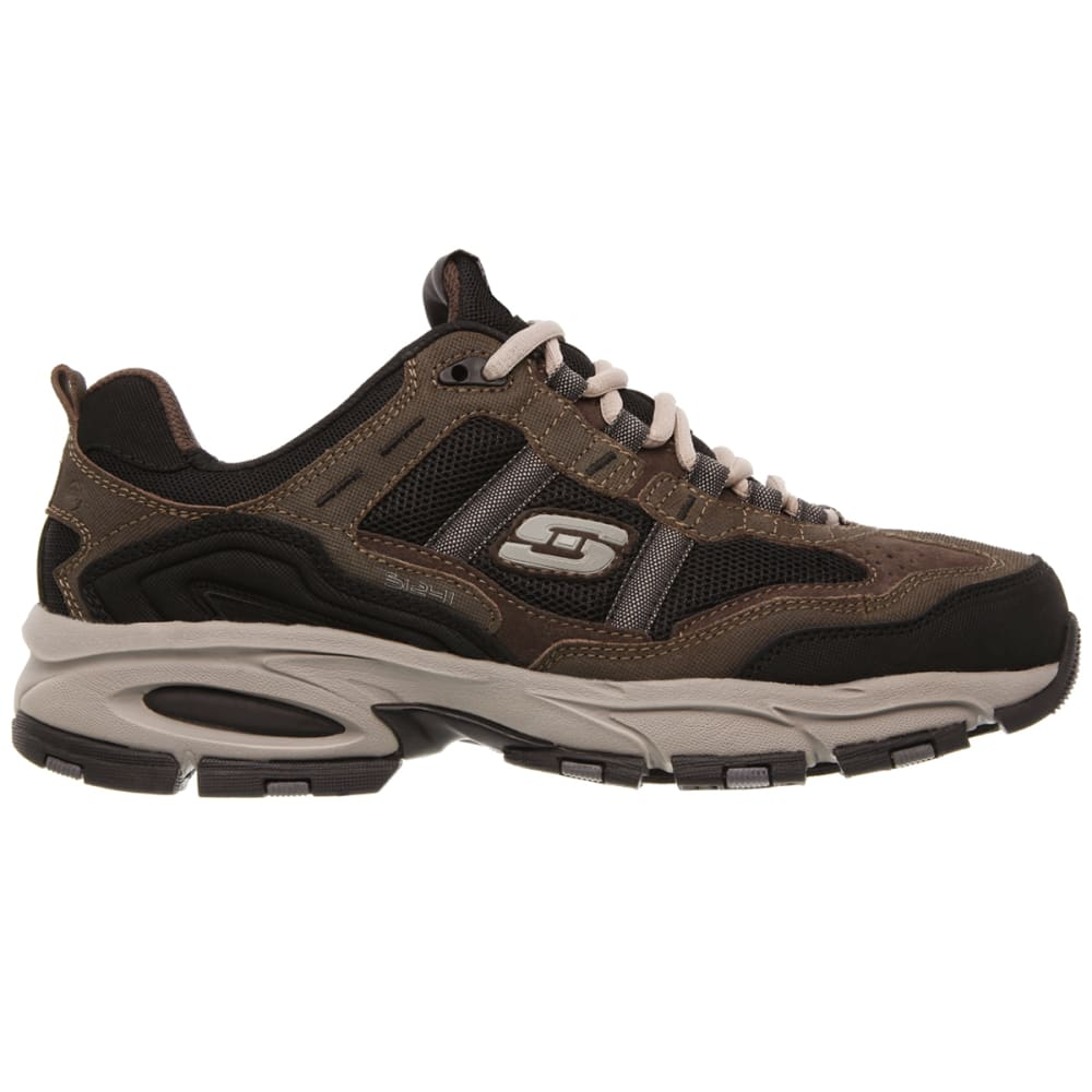 SKECHERS Men's Vigor 2.0 Trait Shoes - BROWN-BRBK