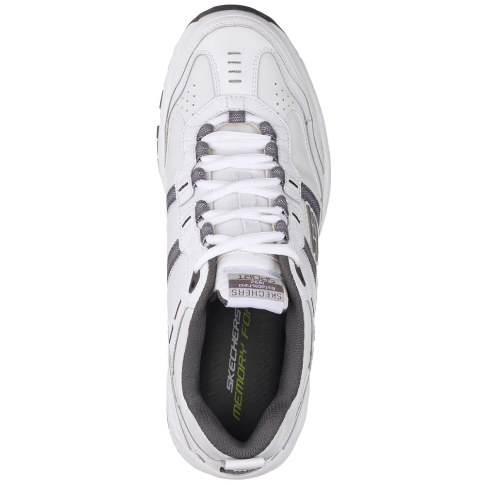 SKECHERS Men's Vigor 2.0–Serpentine Shoes, Wide - WHITE