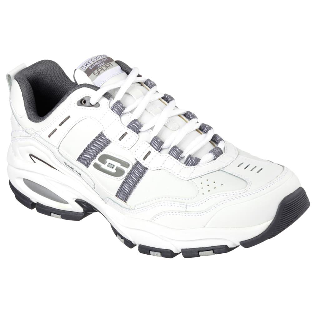 SKECHERS Men's Vigor 2.0–Serpentine Shoes, Wide - WHITE