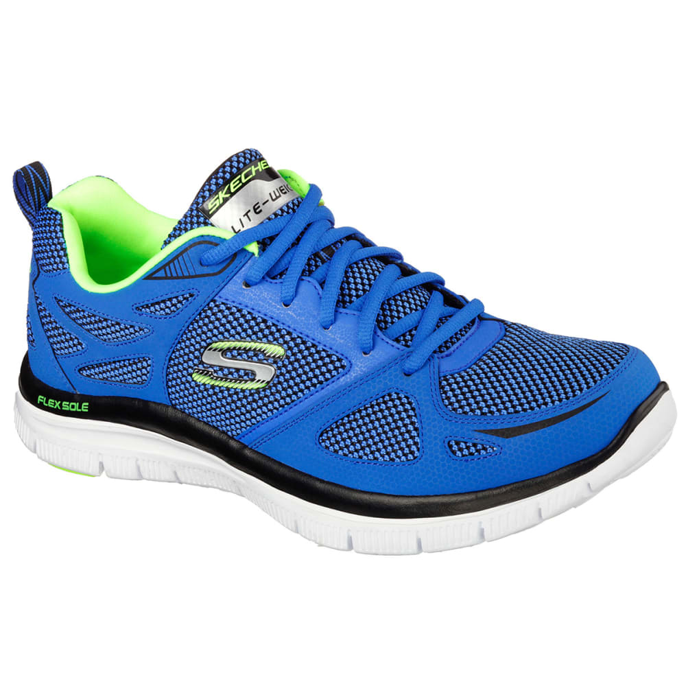 SKECHERS Men's Flex Advantage Sneakers - BLUE/BLACK