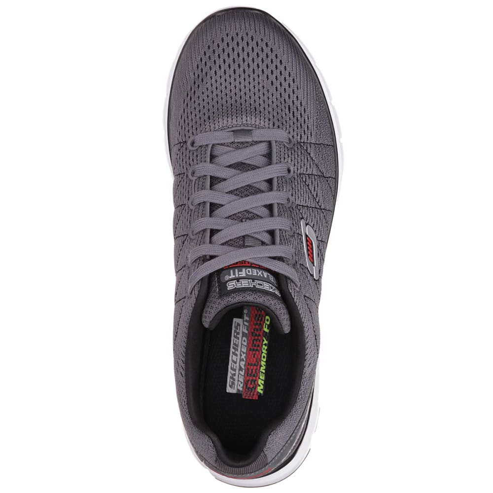 SKECHERS Men's Relaxed Fit® Skech-Flex Shoes - CHARCOAL
