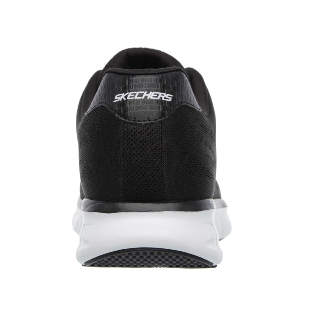 SKECHERS Men's Synergy Fine Tune Sneakers - BLACK/WHITE