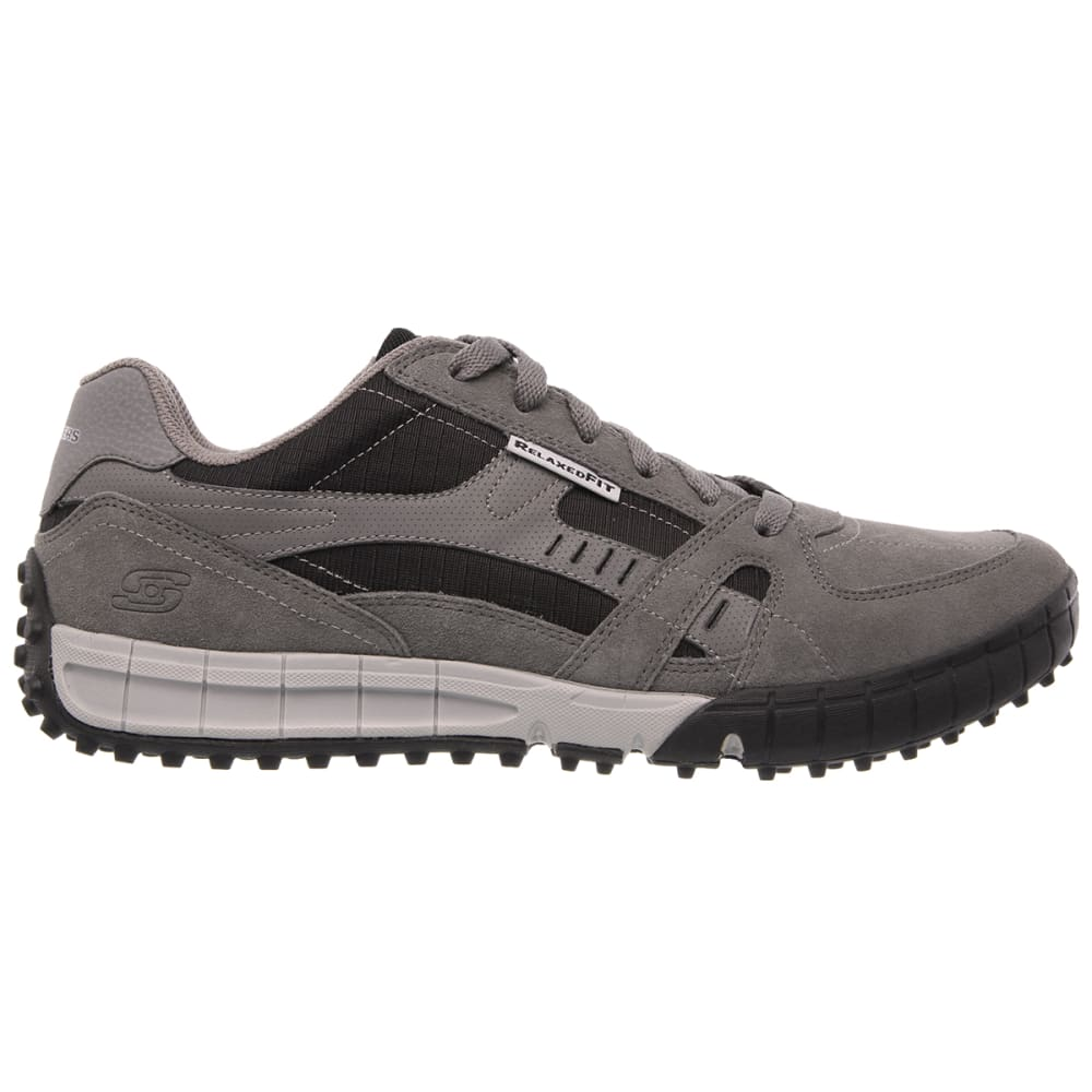 SKECHERS Men's Relaxed Fit: Floater Sneakers - CHARCOAL